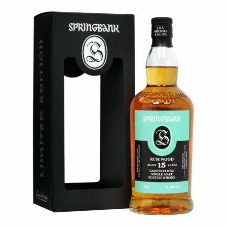 Springbank 15 éves Rum Wood