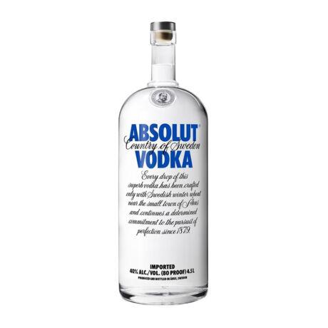 Absolut Vodka 4.5 liter