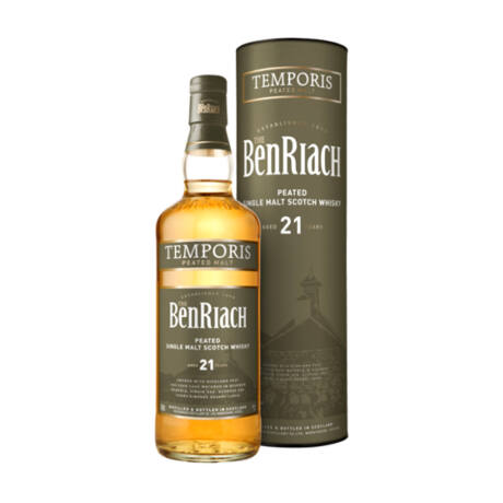 Benriach Temporis 21 éves Peated