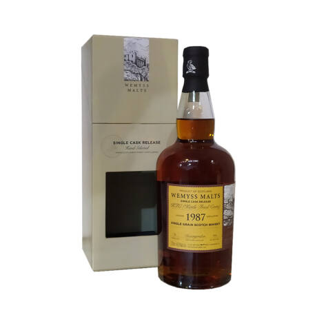 Invergordon 31 éves 1987 Wemyss Kettle Fried Corn