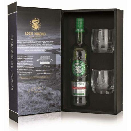 Loch Lomond The Open edition ajándékcsomag 2 pohárral