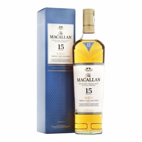 Macallan 15 éves Triple Cask