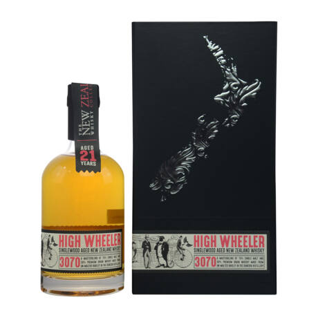 New Zealand Whisky 21 éves High Wheeler