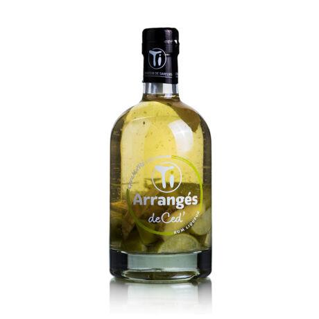 Rum Ti Arrangés de Ced' Gwamare Citron Gingembre