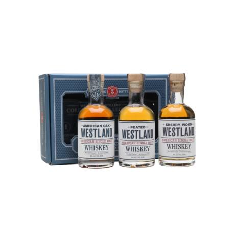 Westland American Whiskey 3 pack