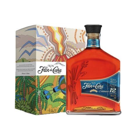 Rum Flor De Cana 12 éves