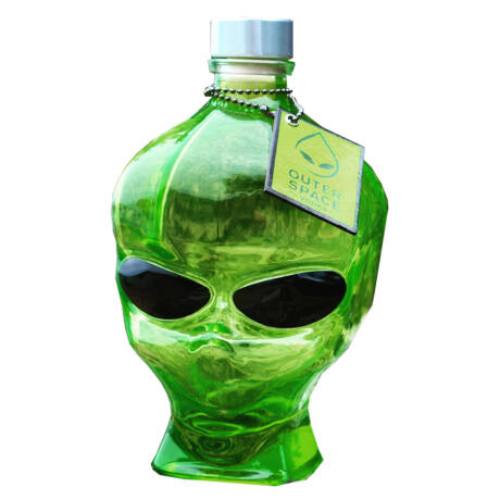 Vodka Outerspace Alien Head