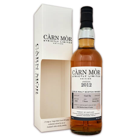 Caol Ila 2012 Cárn Mór Strictly Limited