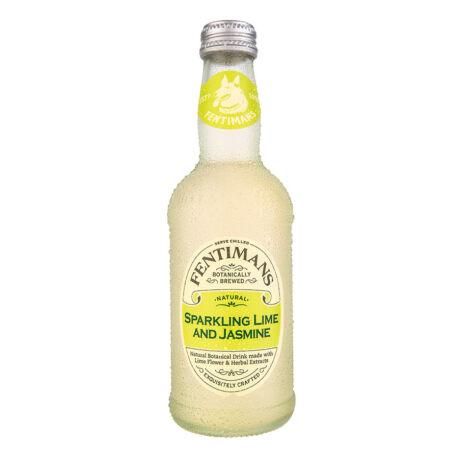Fentimans lime-os, jázminos szénsavas üdítőital