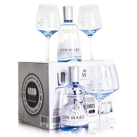 Gin Mare Hétvégi csomag + 4 pohár