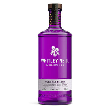 Gin Whitley Neill Rhubarb & Ginger