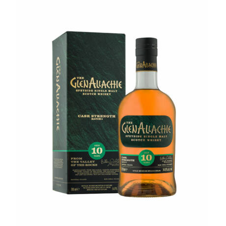 Glenallachie 10 éves Cask Strength Batch 2.