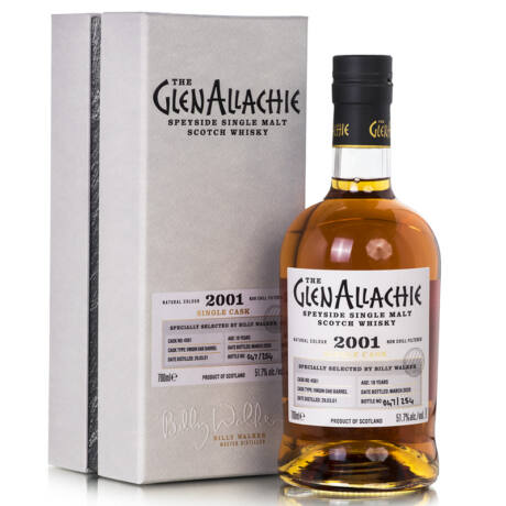 GlenAllachie Single Cask 2001