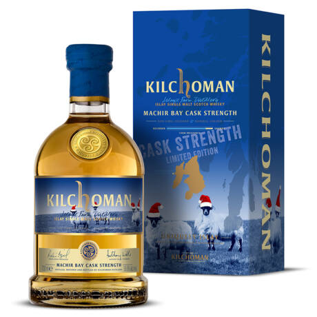 Kilchoman Machir Bay Cask Strenght Festive Edition
