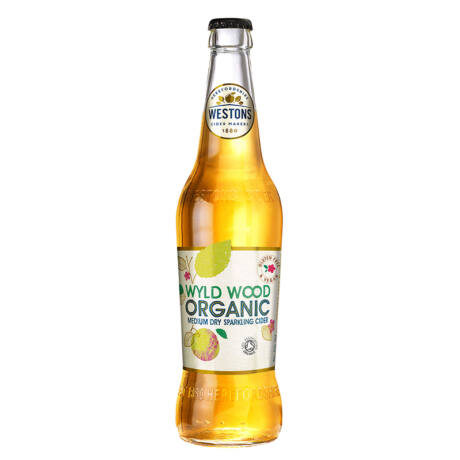 Cider Westons Wyld Wood Organic bio alma