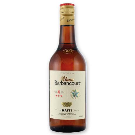 Rum Barbancourt 3 Star 4 éves