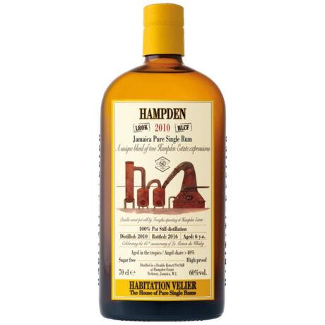 Rum Hampden 6 éves 2010 Blend