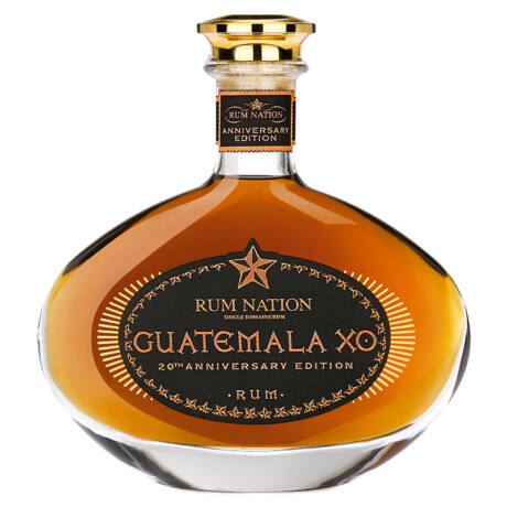 Rum Nation Guatemala XO 20th Anniversary Decanter