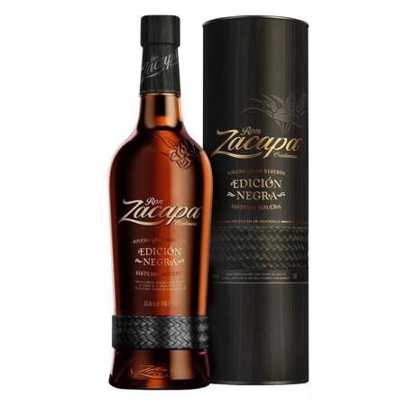 Rum Zacapa Edicion Negra