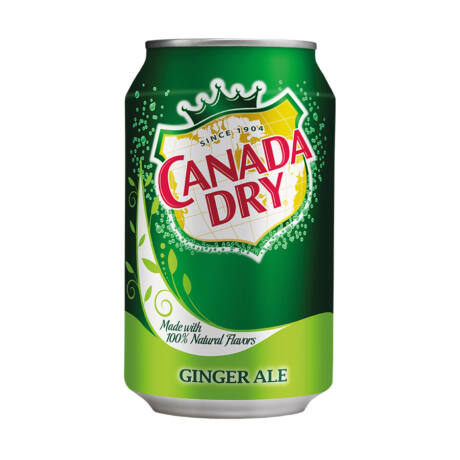 Canada Dry Ginger Ale dobozos