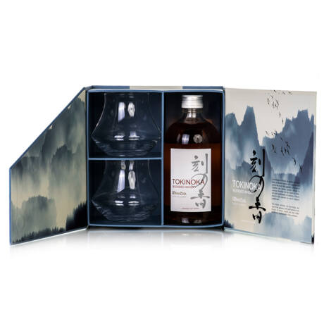 Tokinoka White Oak ajándékcsomag 2 pohárral