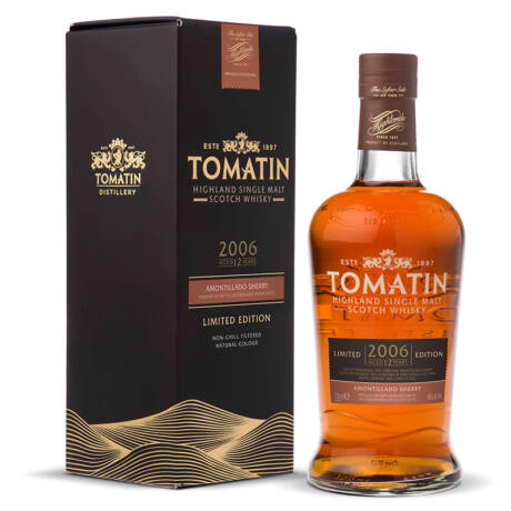 Tomatin 2006 12 éves Amontillado Finish
