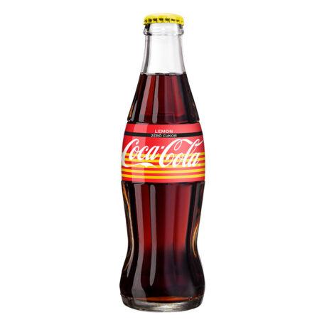 Coca-Cola Zero Lemon üveges