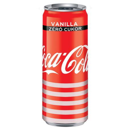 Coca-Cola Zero Vanilia dobozos