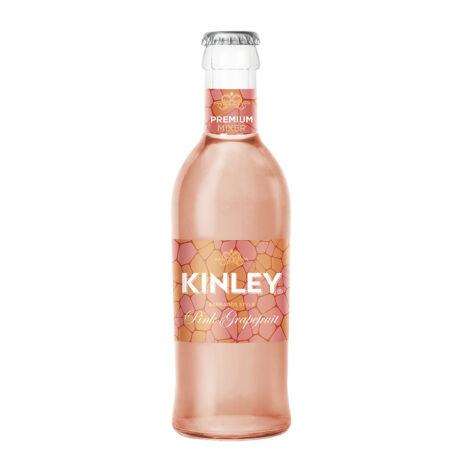 Kinley Premium Pink-Grapefruit üveges