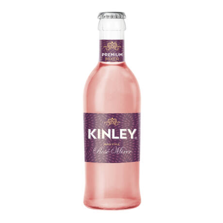 Kinley Premium Rose mixer üveges