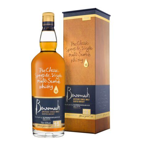 Benromach 15 éves (0,7 l, 43%)