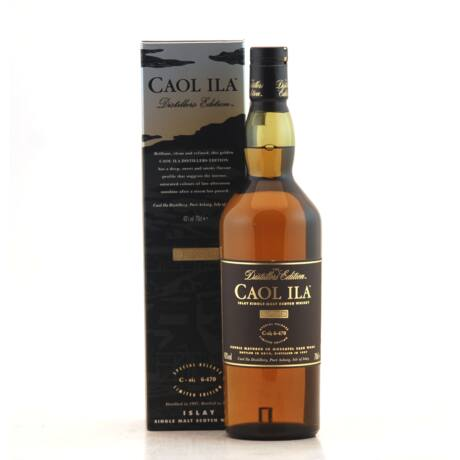 Caol Ila Distillers Edition Moscatel Finish (0,7 l, 43%)