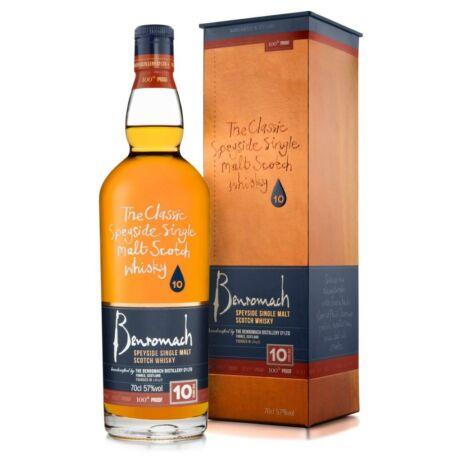 Benromach 10 éves 100 Proof (0,7 l, 57%)