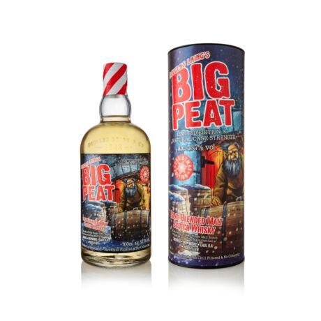 Big Peat Karácsonyi kiadás 2019 (0,7 l, 53,7%)
