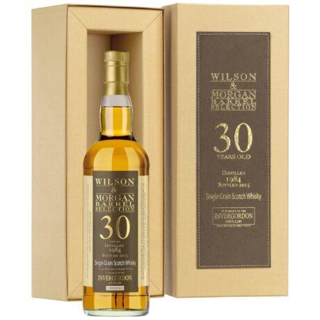 Invergordon 30 éves Sherry Wood Wilson&Morgan (0,7 l, 57%)