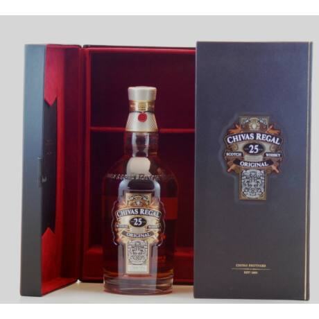 Chivas Regal 25 éves (0,7 l, 40%)