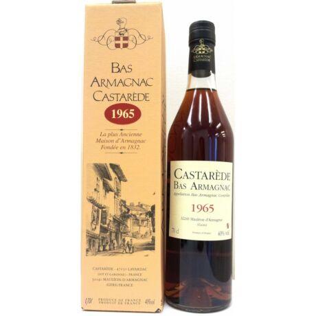 Armagnac Castaréde 1965 (0,7 l, 40%)