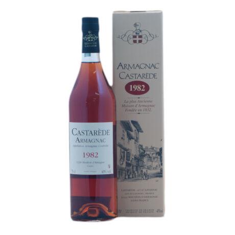 Armagnac Castaréde 1982 (0,7 l, 40%)