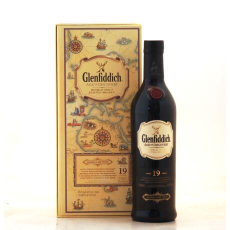 Glenfiddich 19 éves Discovery (0,7 l, 40%)