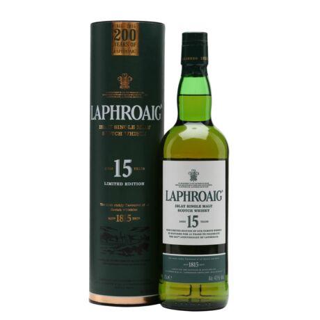 Laphroaig 15 éves (0,7 l, 43%)
