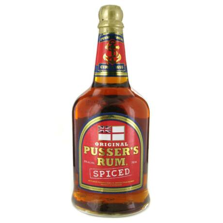 Rum Pusser's Spiced (0,7 l, 35%)