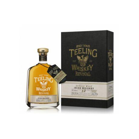Teeling Revival 12 éves 5th Edition Cognac Barrel (0,7 l, 46%)